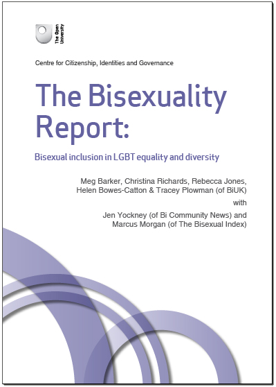 The Bisexuality Report: Bisexual inclusion in LGBT equality and diversity